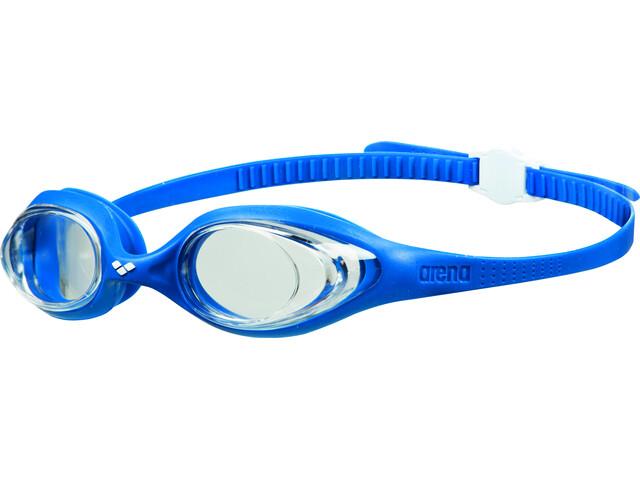 arena Spider Brille clear/blue/white